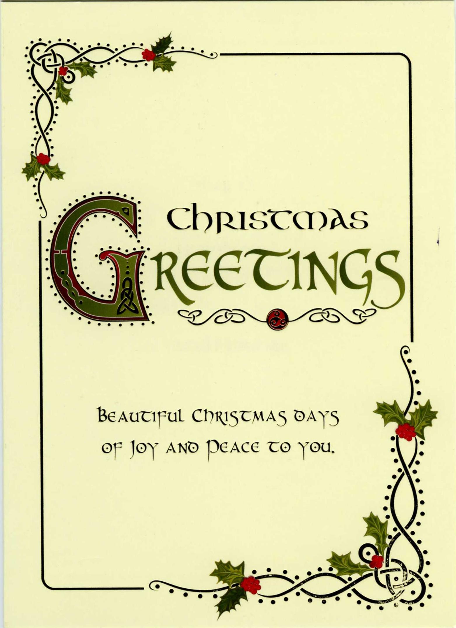 St. Vincent's Christmas Cards now on sale - St. Vincent's ...