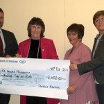 Christine Kearney Cheque Presentation 2011