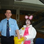 Christine Kearney Easter Bunny Fundraising April 2012