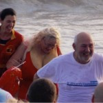 Eamonn & Mary Burke, New Year's Day Swim 2013 for Liver Unit3