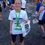 Niamh Dillon Dublin Marathon 2013