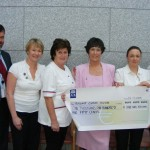 Christine Kearney Cheque Presentation 2009