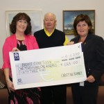 Christine Kearney Cheque Presentation 2010