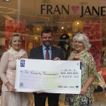 Frau & Jane Fashion Show cheque Presentation 2010