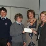 O'Neill Family Cheque Presentation 2008
