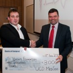 UCD Med Day Cheque Presentation 2009
