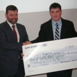 UCD Med Day Cheque Presentation 2010