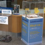 Donation Boxes - Main Reception 2011