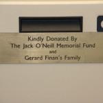 Leucapheresis Machine Donor Plaque 2010