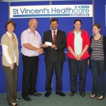 Redmond Family Donation to Haematology Unit July 2012