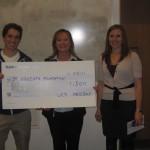 UCD Med Society cheque presentation 2011