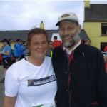 Aifric Ni Mhuircheartaigh Dingle Half Marathon for Liver Unit Sept. 2012