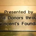 Votive Candle plaque 2011
