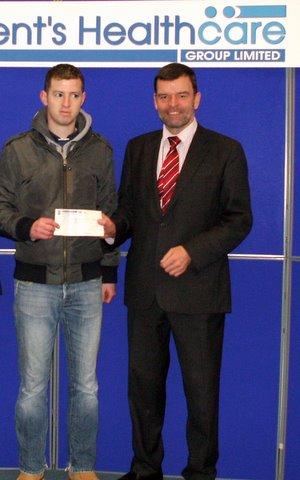 Adrian Yore fundraising Jan 2012