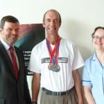 Tony Gartland World Transplant Games 2013