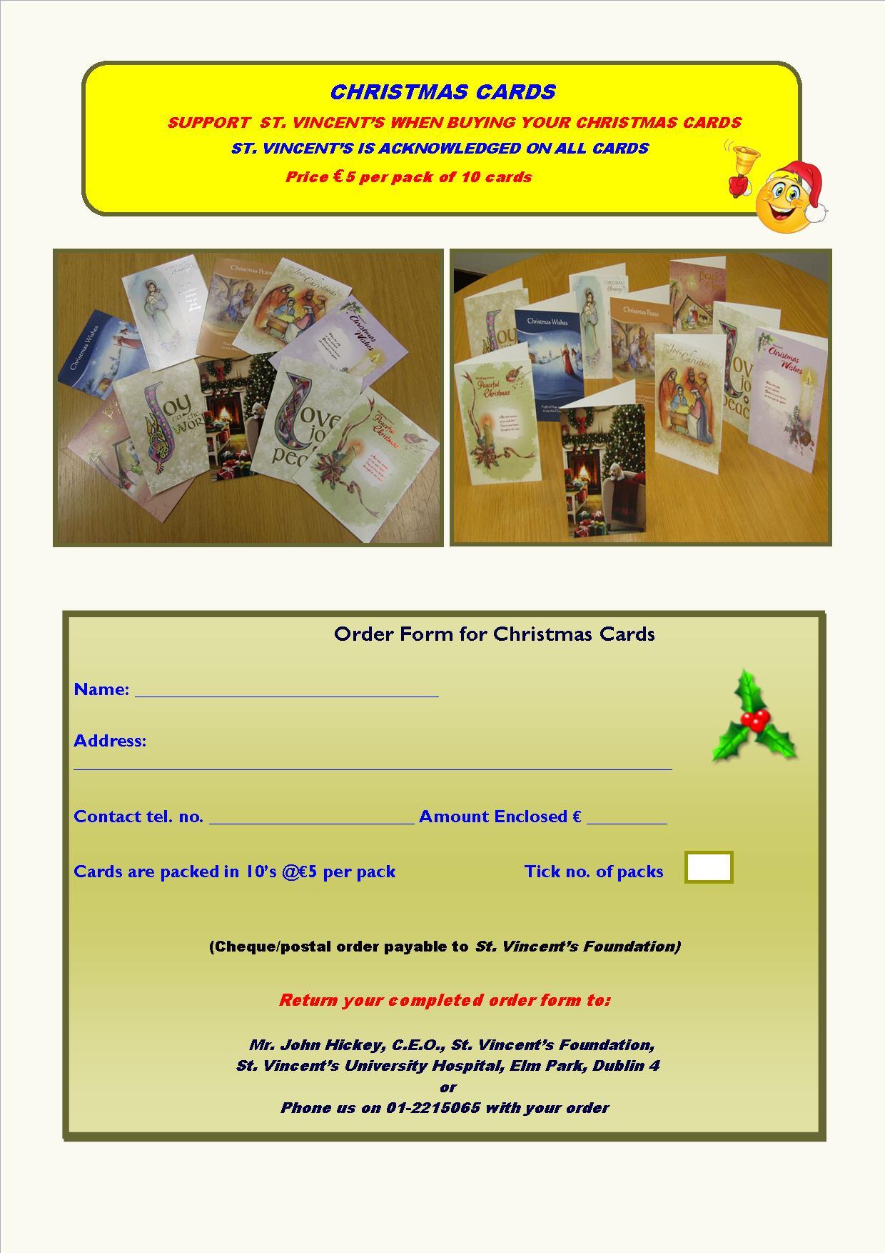 christmas cards st vincent s foundation