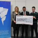 ucd med day cheque presentation Feb 2015