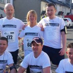 Wicklow Half Marathon fundraising by the Flood family
