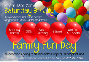 Carrickmacross Fun day for Liver Unit June 2016